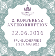 2. Konferenz Antikorruption
